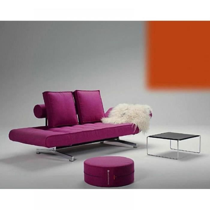 canap lit design line up fuchsia convertible 90 achat. Black Bedroom Furniture Sets. Home Design Ideas