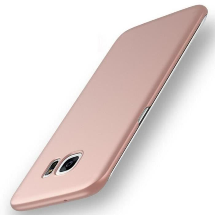coque galaxy s6 edge or rose raye