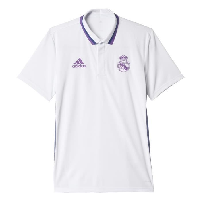 Polo Real Madrid Climalite 2016-2017 - Prix pas cher - Cdiscount 64cf9935fc915