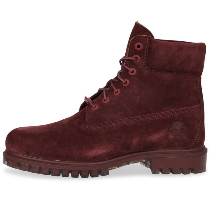 Rouge Bottine Tpu 6 Homme 44 Suede 5 Timberland Wp Taille FTJl3K1c