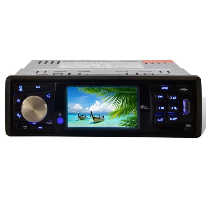 Auto radio cran lcd usb 1 din lecteur mp3 mp5 achat for Ecran photo usb