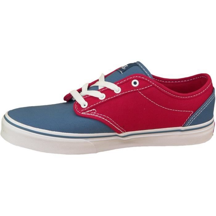 Vans Atwood Canvas V3Z9IML BlueRed - Chaussures Baskets basses Femme