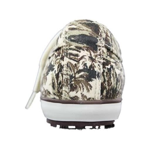 baskets chica camouflage filles pom d'api h32pdp002 32 Blanc