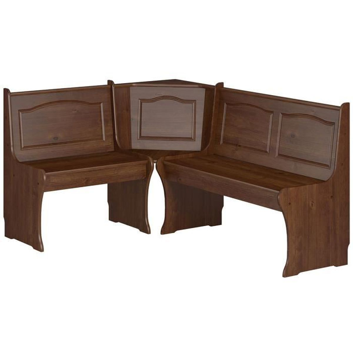 Table Et Banc D Angle girada - banc d'angle chocolat - achat / vente banc - cdiscount