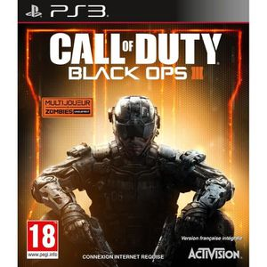 JEU PS3 Call of Duty Black Ops III Jeu PS3