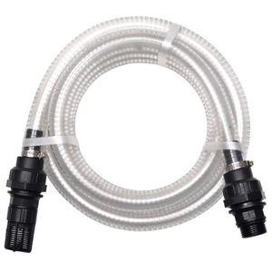 Einhell Accessoire Kit tuyau d/'aspiration noir 7 mètres avec embouts en PVC te