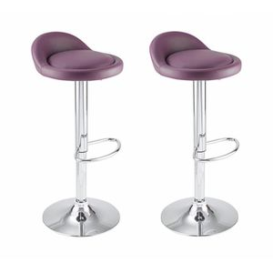 tabouret de bar violet achat vente tabouret de bar. Black Bedroom Furniture Sets. Home Design Ideas