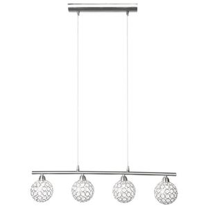 LUSTRE ET SUSPENSION Lustre éclairage suspension plafonnier 4 spots bou