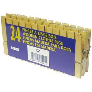 PINCE À LINGE LAGUELLE 24 Pinces à linge en bois