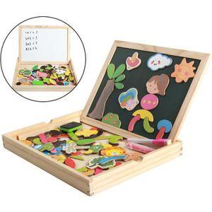 PUZZLE Jeu de jouets éducatifs magnétiques pour filles ga