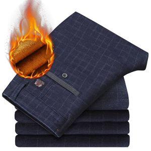 PARKA Pantalon Homme Plus Velours épais Coton Décontract