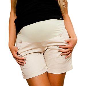 Maternity light shorts Perfect for Summer 9038 Mija
