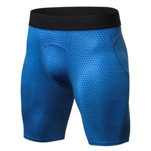 Velo Homme Compression Short Thermique Flex Base Couches Sports Boxe Exercice