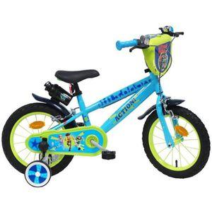 VÉLO ENFANT Vélo 14'' TOY STORY 4 équipé de 2 freins, plaque a