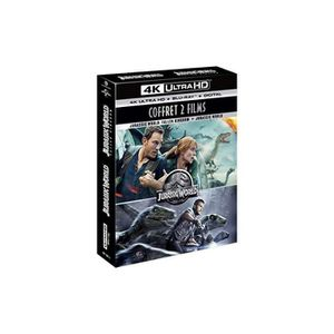 SPECTROPHOTOMETRE Jurassic World 1 & 2 [4K Ultra HD + Blu-ray + Digi