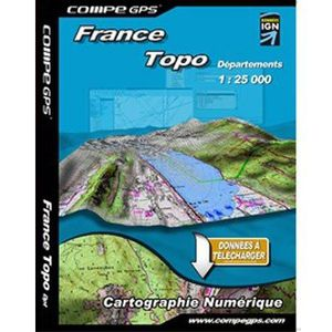 CARTE DE NAVIGATION TWONAV - CG- 1-25 FR FULL