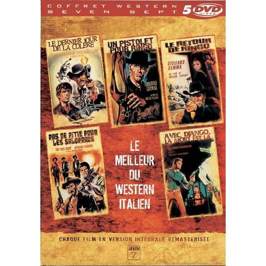 dvd coffret le meilleur du western italien en dvd film pas cher valerii tonino margheriti. Black Bedroom Furniture Sets. Home Design Ideas