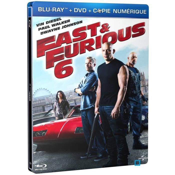 blu ray fast and furious 6 en blu ray film pas cher cdiscount. Black Bedroom Furniture Sets. Home Design Ideas