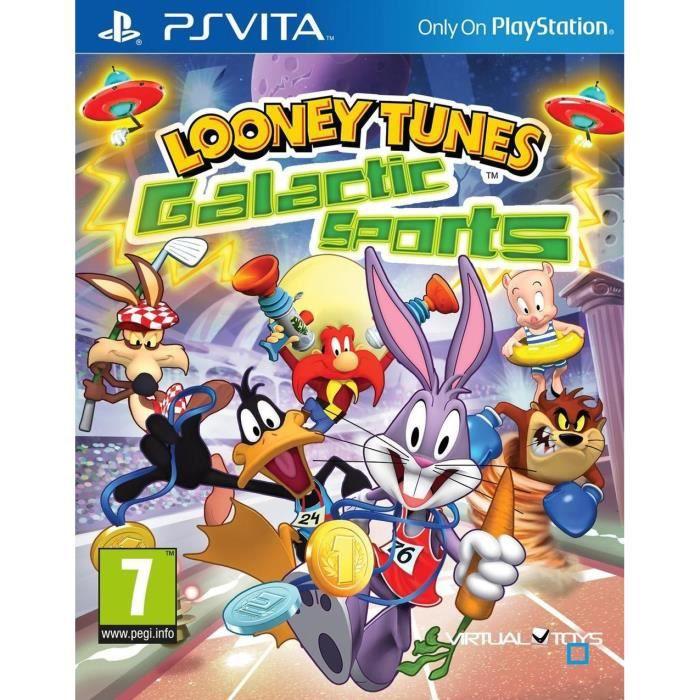 Looney Tunes : Galactic Sports Jeu PS Vita