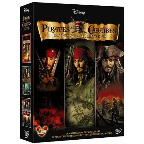 coffret pirates des cara bes en dvd film pas cher cdiscount. Black Bedroom Furniture Sets. Home Design Ideas