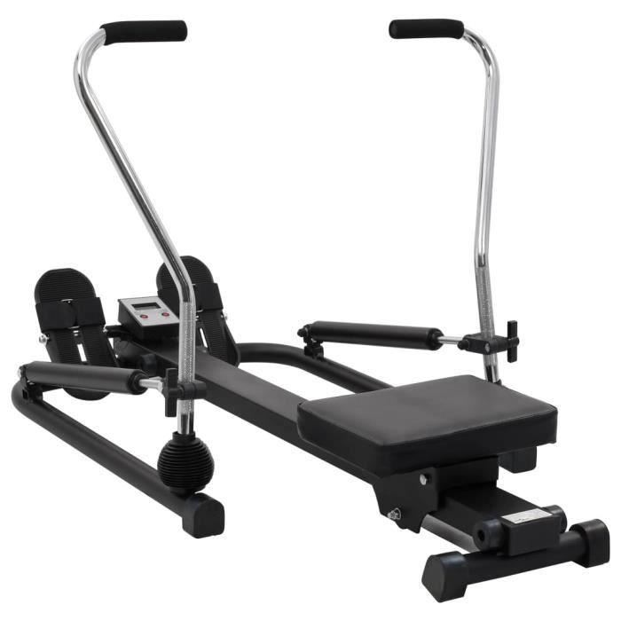 Machine à ramer Machines de cardiotraining Home Fitness5 niveaux de résistance hydraulique