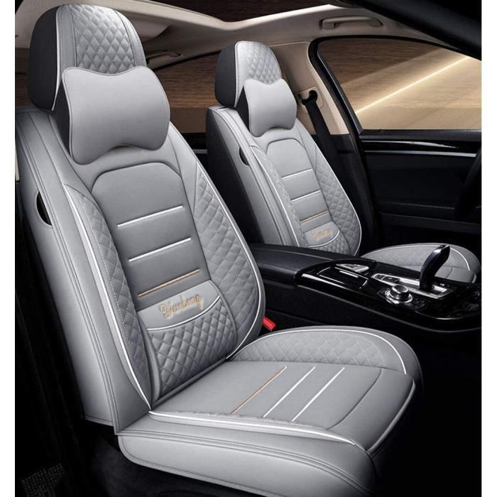 Housses de siegravege Auto universelles PU Housse de siegravege de Voiture en Cuir Airbag Compatible pour Toyota c-HR chr Cor 975