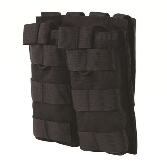 Attachement Double Bag Système MOLLE Gilet Kit d'accessoires Stockage Sac Molle à plusieurs poches à dos SAC A DOS DE RANDONNEE