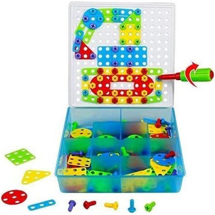 VEHICULE A CONSTRUIRE ENGIN TERRESTRE A CONSTRUIRETONZE Jeu de Construction Puzzle Enfant Jouet Fille Garcon 3 Ans 4 Ans 5 Ans313