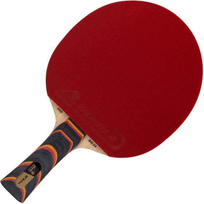 Raquette de tennis de table professionnelle par Donier - SP-Balsa PRO - Raquette de ping-pong de fabrication européenne - Base à