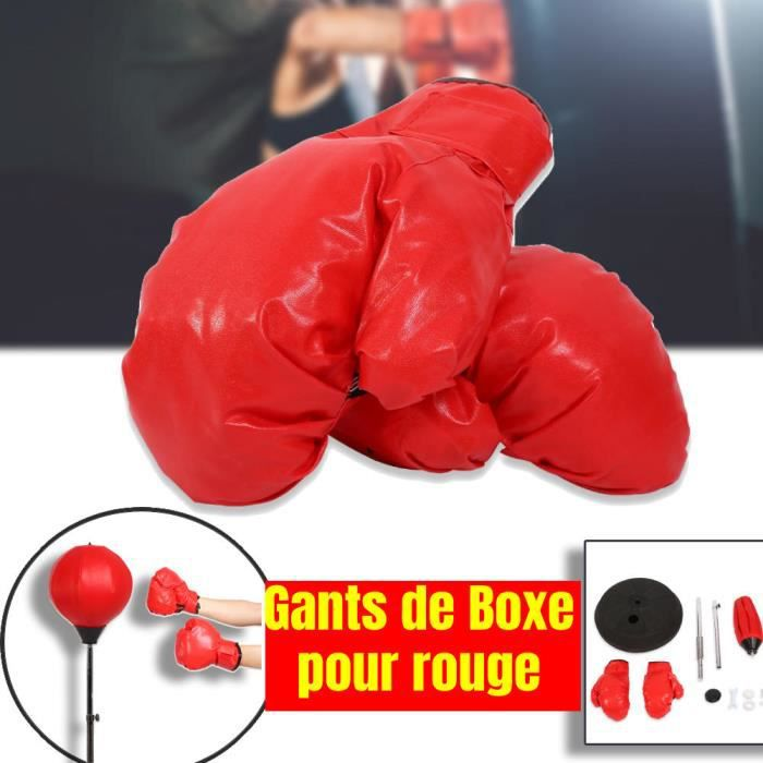 MAG Ballon De Frappe Adulte, Sac De Frappe, Entraînement De Boxe, Hauteur Réglable 125-140Cm -PT33