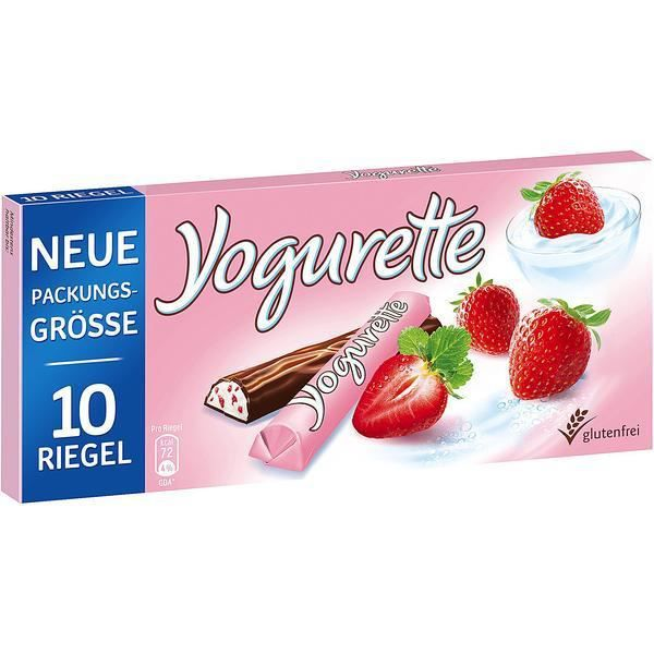 Ferrero Yogurette yaourt aux fraises 10 x 125g barres
