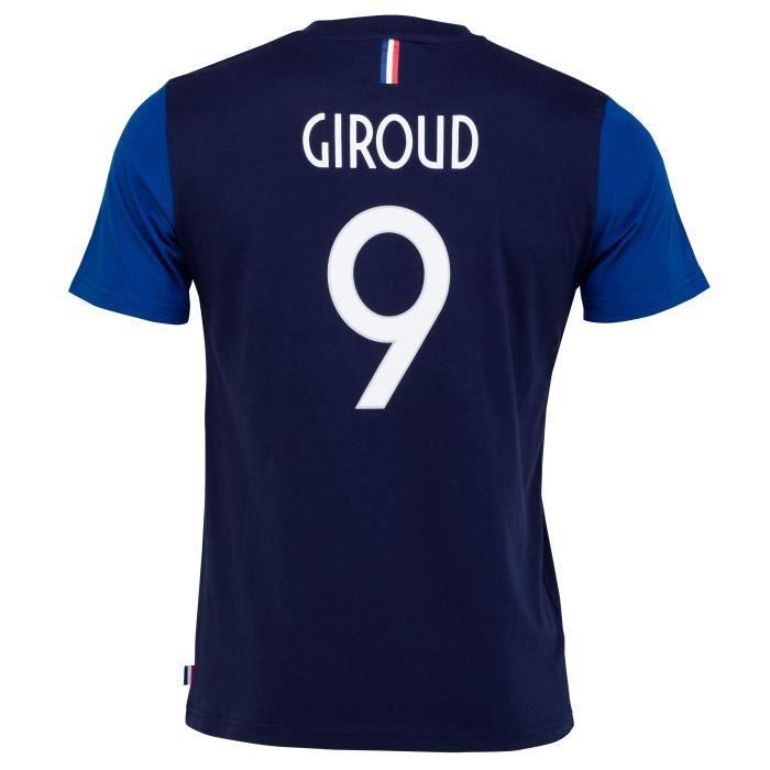 T-shirt FFF - Oliver GIROUD - Collection officielle Equipe de France de Football