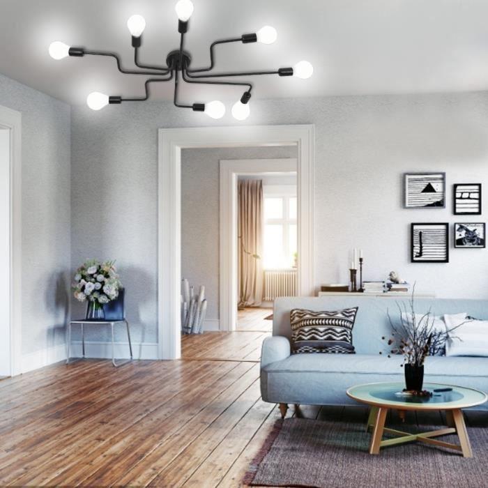 VGEBY Jeu de support de lampe de plafond Luminaire Suspendu pour Salon Salle à Manger Chambre sans ampoule HB005