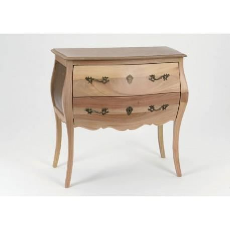 Commode murano 2 tiroirs pr te peindre amadeus achat for Peindre une commode