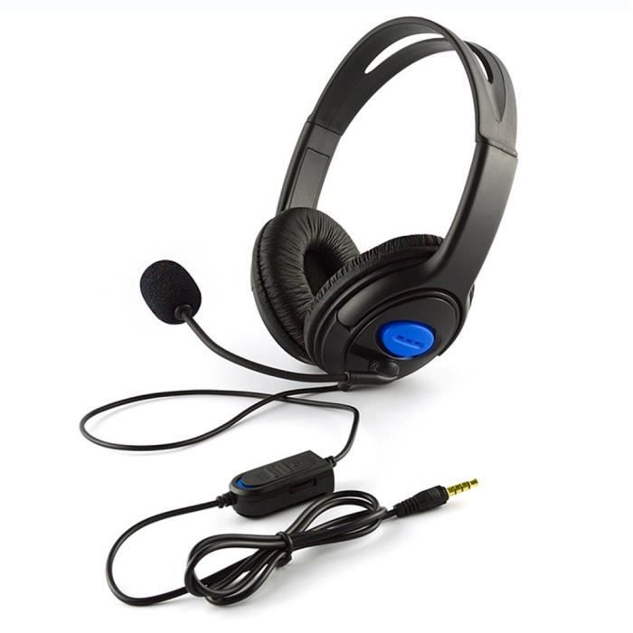 CASQUE AVEC MICROPHONE Wired Gaming Headset Casques avec microphone pour