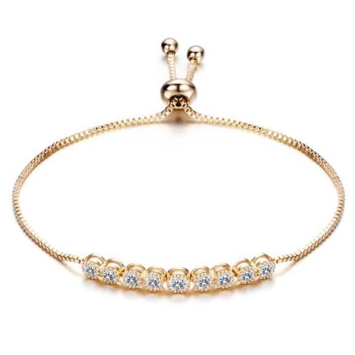 bracelet femme reglable