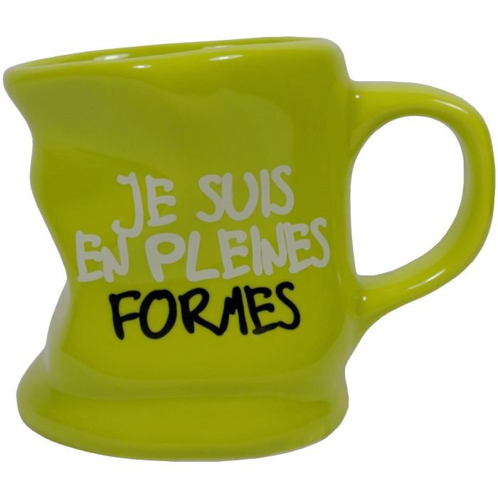 mug tasse caf froiss design fun pleine form achat vente bol mug mazagran soldes. Black Bedroom Furniture Sets. Home Design Ideas