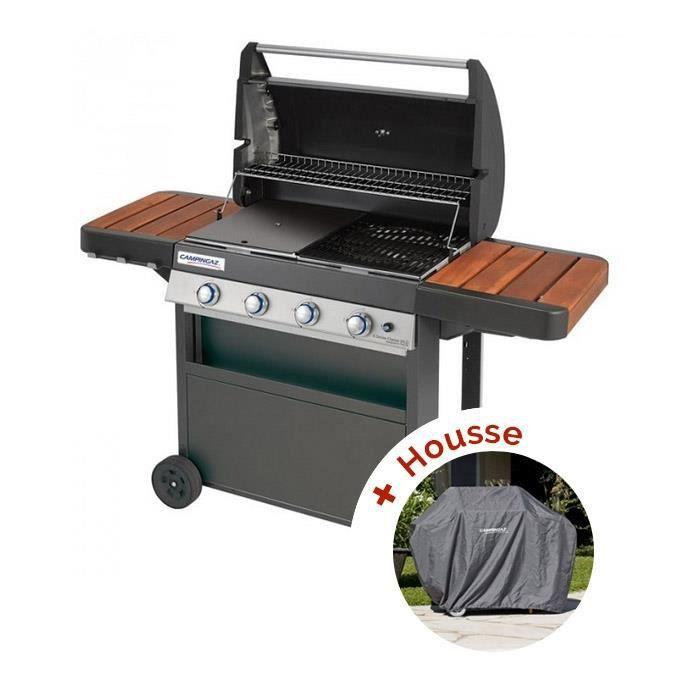 Photo de pack-barbecue-a-gaz-campingaz-4-series-classic-wld-housse-85-cm