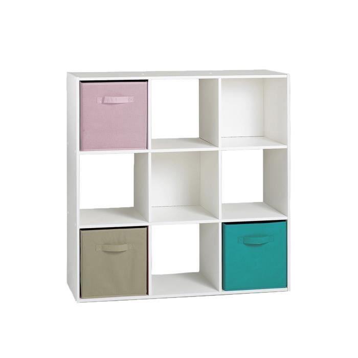 Meuble Cube Blanc Achat Vente Pas Cher