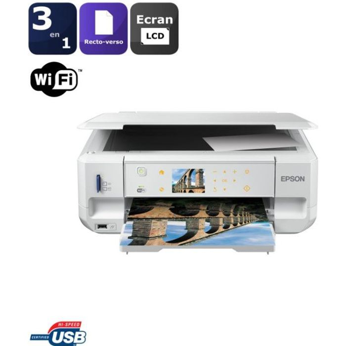 imprimante epson multifonction 3 en 1 wifi xp 605 prix. Black Bedroom Furniture Sets. Home Design Ideas