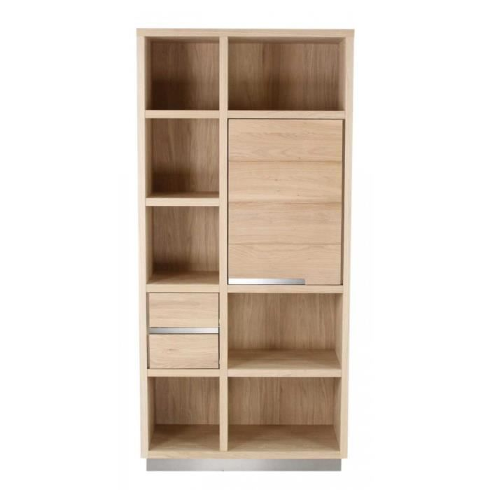 biblioth que ch ne 1 porte 2 tiroirs orlando achat. Black Bedroom Furniture Sets. Home Design Ideas