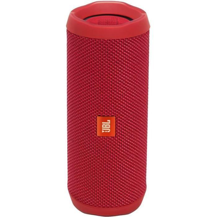 ENCEINTE NOMADE JBL Flip 4 Rouge enceinte bluetooth portable Water