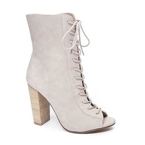 Lawless Peep Toe Bootie L2M26 Taille-37 1-2