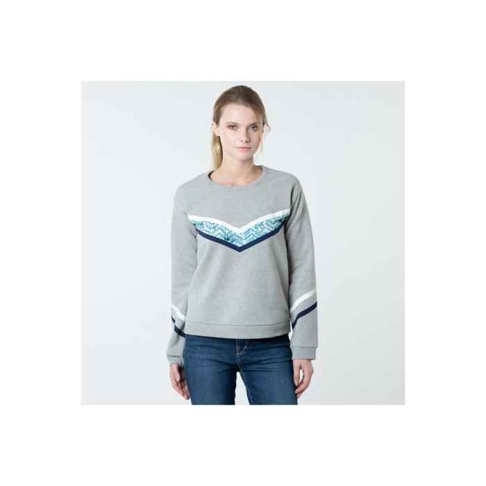 SWEATSHIRT LEE COOPER Sweatshirts Heather grey