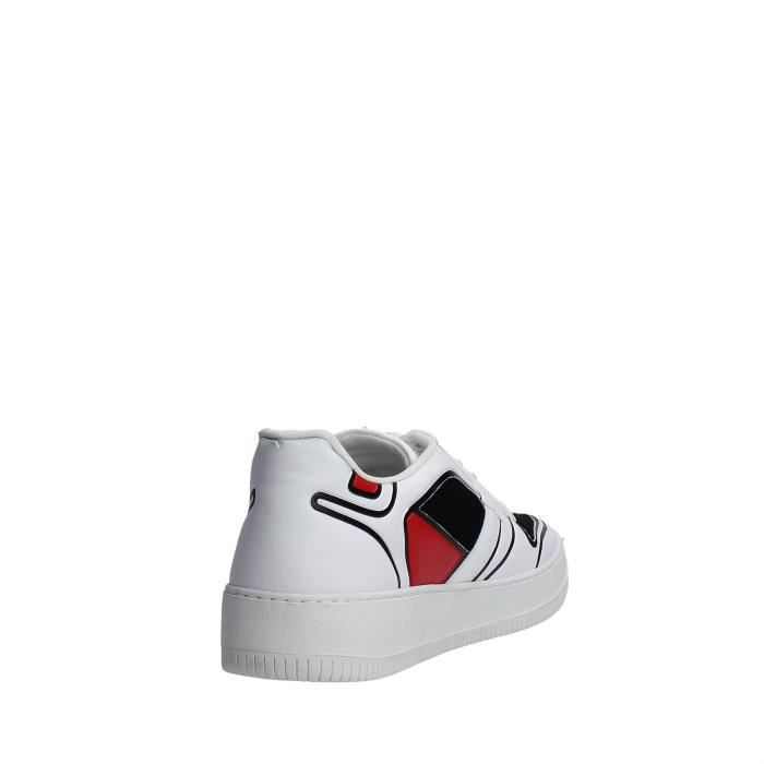 D.a.t.e. Sneakers Homme Blanc, 45