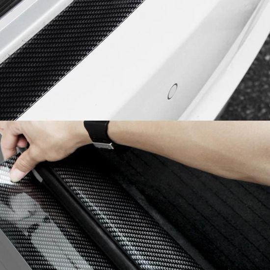 AEVEILS 4PCS Coussin Protection de seuil Porte de Voiture en Fibre de Carbone pour Suzuki Swift Autocollants Garniture de Couvre-p/édale Accessoires d/écoration Couvre-p/édale Anti-Sale