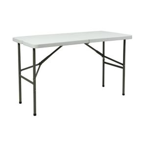 TABLE DE CAMPING Table Pliante Camping - Rectangulaire - 121 Cm