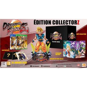 JEU PS4 Dragon Ball FighterZ Edition Collector Jeu PS4