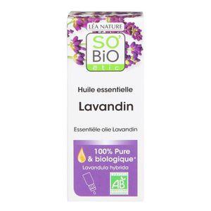 HUILE - LAIT MASSAGE SOBIO Huile essentielle lavandin - Bio - 15 ml - R