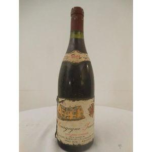 VIN ROUGE irancy daniel renaud rouge 1991 - bourgogne france